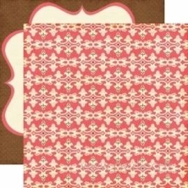 "Popierius ""Fancy Border"", 30,5x30,5 cm"