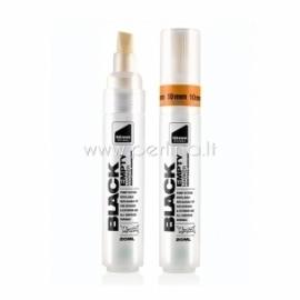 "Tūbelė dažams su antgaliu ""Black Empty Marker 10 Chisel"", 10 mm, 20 ml"