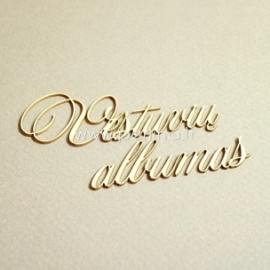 """Kartoninė detalė """"Vestuvių Albumas"""", 3 vnt."""