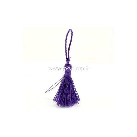 Poliesterio kutas, tamsiai violetinis, 4,5 - 5,5 cm