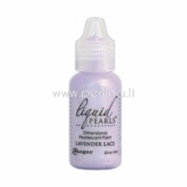 "3D perlamutriniai dažai ""Liquid Pearls Lavender Lace"", 18 ml"