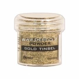 """Reljefiniai milteliai """"Embossing Powder - Gold Tinsel"""", 18 g."""