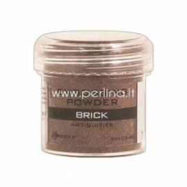 """Reljefiniai milteliai """"Embossing Powder - Antiquities Brick"""", 19 g."""