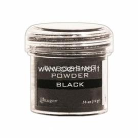 """Reljefiniai milteliai """"Embossing Powder - Black"""", 16 g."""