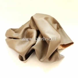 Natūralios karvės odos atraižos, balintos kavos sp., 200 g.