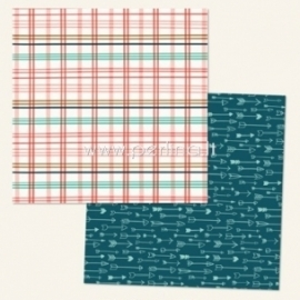 "Popierius ""Ashbury Heights Wallpaper - Market Street Collection"", 30,5x30,5 cm"