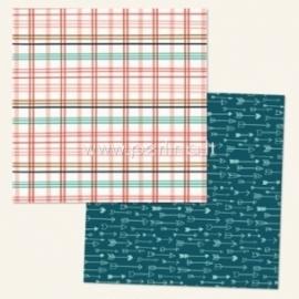 "Popierius ""Ashbury Heights Wallpaper - Market Street Collection"", 30,5x30,5 cm"