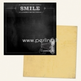 "Popierius ""Smile - Chalk Studio 2 Collection"", 30,5x30,5 cm"