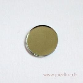 Apvalus veidrodėlis, skaidrus, 1,3 mm, 1 vnt