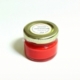 Paint for leather edge, red, 20 g.