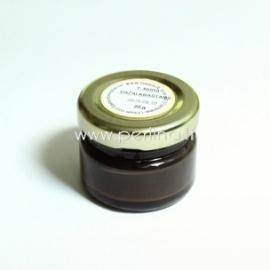 Dažai odos kraštui, tamsiai rudos sp., 20 g.