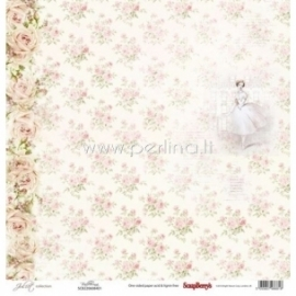 "Popierius ""Ballerina - Juliet Collection"", 30,5x30,5 cm"