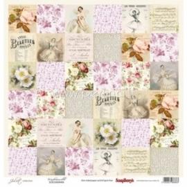 "Popierius ""Mademoiselle - Juliet Collection"", 30,5x30,5 cm"