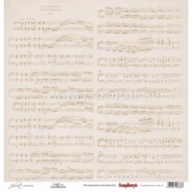 """Popierius """"Notation - Juliet Collection"""", 30,5x30,5 cm"""