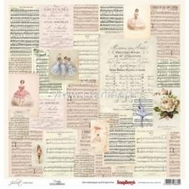"Popierius ""Poetry - Juliet Collection"", 30,5x30,5 cm"