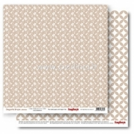 "Popierius ""Classic Wallpaper Iced Coffee - Elegantly Simple Collection"", 30,5x30,5 cm"