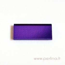 Stačiakampis veidrodėlis, violetinis, 8x20 mm