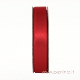 "Satino juostelė ""Radient Red"", 10 mm, 3 m"