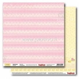 "Popierius ""Wavy Pink - Sweet Dreams Collection"", 30,5x30,5 cm"