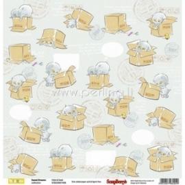 "Popierius ""Hide&Seek - Sweet Dreams Collection"", 30,5x30,5 cm"