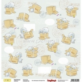 "Paper ""Hide&Seek - Sweet Dreams Collection"", 30,5x30,5 cm"