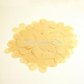 Medžiaginės gėlytės, gelsva kreminė sp., 1 vnt., dydis pasirenkamas