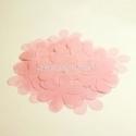 Medžiaginės gėlytės, šviesi rožinė sp., 1 vnt., dydis pasirenkamas