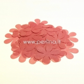 Fabric flowers, raspberry, 1 pc, select size