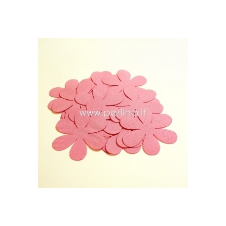 Medžiaginės gėlytės, rožinė sp., 1 vnt., dydis pasirenkamas