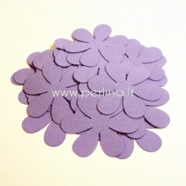 Fabric flowers, pale violet, 1 pc, select size