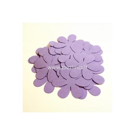 Medžiaginės gėlytės, blyški violetinė sp., 1 vnt., dydis pasirenkamas