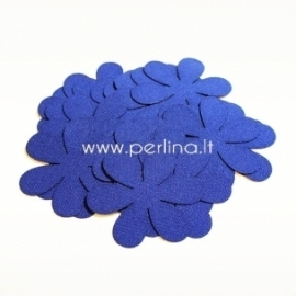 Fabric flowers, royal blue, 1 pc, select size