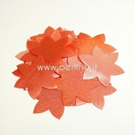 Fabric flower, salmon, 1 pc, select size
