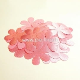Fabric flowers, light pink, 1 pc, select size