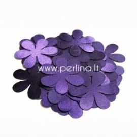 Medžiaginė gėlytė, violetinė sp., 1 vnt., dydis pasirenkamas
