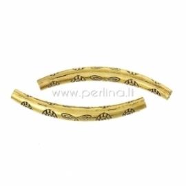 "Intarpas vamzdelis ""Drugelis"", aukso sp., 4,9 cm, 1 vnt."