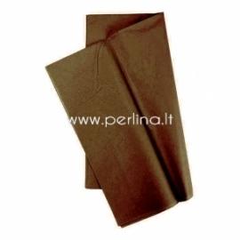 Tissue šilko popierius, rudas, 10 vnt, 50,8x50,8 cm