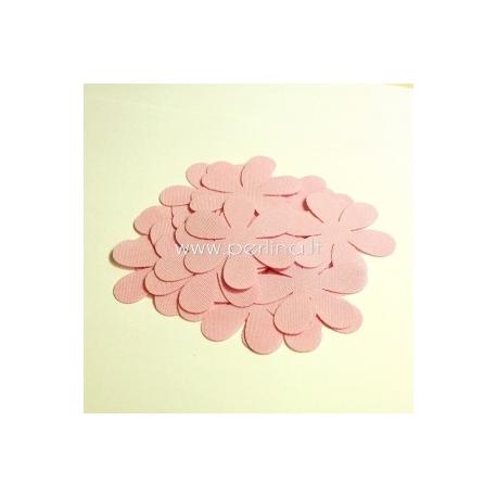 Medžiaginė gėlytė, šviesiai rožinė sp., 1 vnt., dydis pasirenkamas