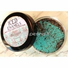 """Šaltosios emalės milteliai """"Relique Turquoise"""", 15 ml"""