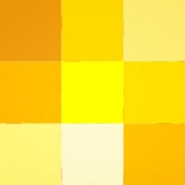 Geltonos spalvos atspalviai