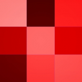 Raudonos spalvos atspalviai