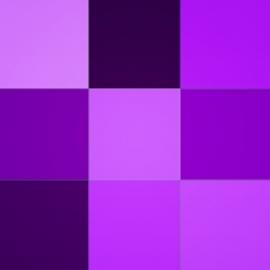 Violetinės spalvos atspalviai