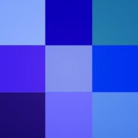 Mėlynos spalvos atspalviai